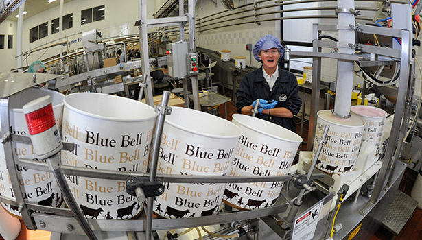 Blue Bell Creameries of Brenham, Texas