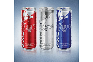 flavored Red bull