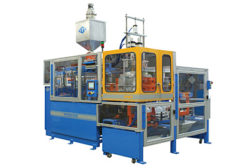 Blow molding machinery