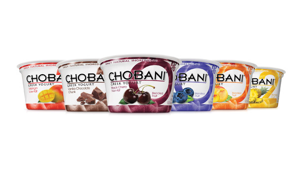 Chobani's yogurt
