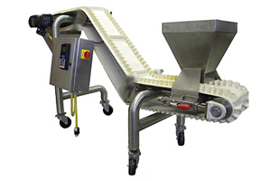 ultra-sanitary, tool-less W.O.W. (Walker Original Washdown) Conveyor