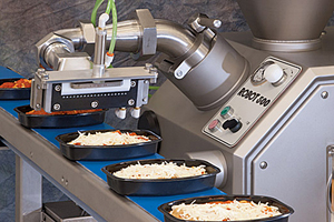 cheese shredding and portioning systems