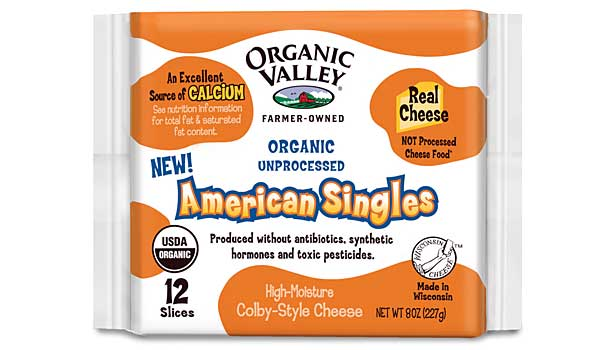 Organic Valley Cheese Singles