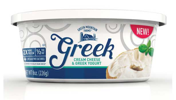 cream cheese from Greek Mountain Farms