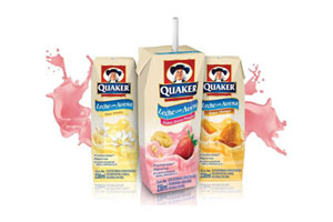 New fortified milk product from Quaker