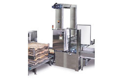 A-B-C Packaging palletizer