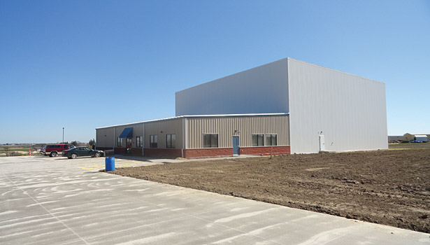 Westby's new distribution center