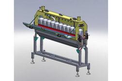Industrial bottle cleaner