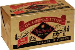 Wüthrich 83% European-style unsalted butter