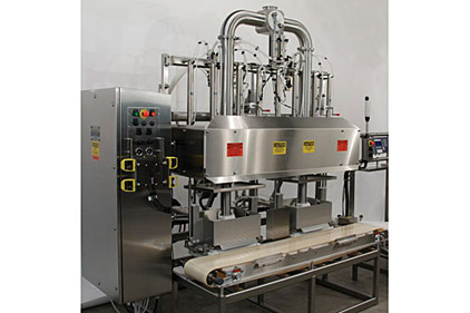 T.D. Sawvel's Model 118 Dual Station volumetric filler