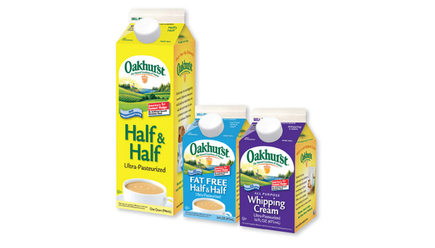 Oakhurst is putting an emphasis on its half & half offerings this year