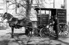 Horse and cart delivery of dairy products