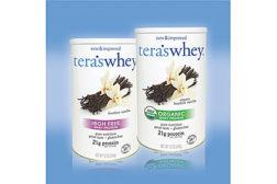 USDA-certified organic whey protein powders