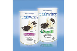 USDA-certified organic whey protein powders