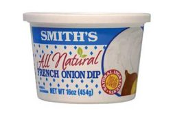 new all-natural French onion dip