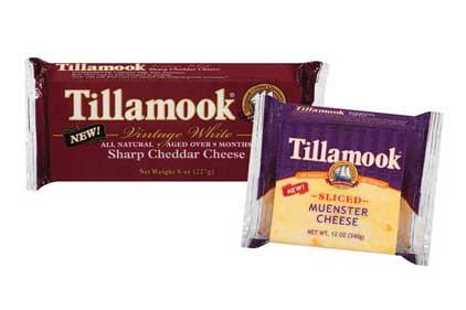 Tillamook County Creamery  introduced two new cheeses