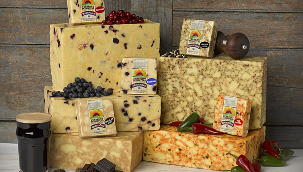 Vermont Farmstead Cheese's WindsorDale cheeses follow the trend of bold flavors.