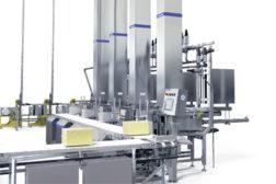 Cheddar cheese blockforming unit