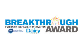 Breakthrough Award for Dairy Ingredient Innovation