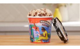 Ben & Jerry's Change is Brewing ice cream flavor