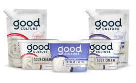 Good Culture lactose-free sour cream cottage cheese