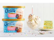 Crystal Creamery birthday cake ice cream