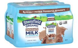 Stonyfield Organic lactose-free stable-stable milk