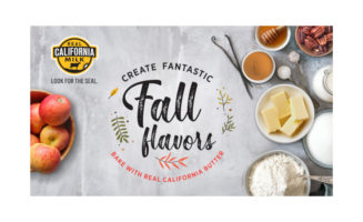 CMAB fall baking butter campaign