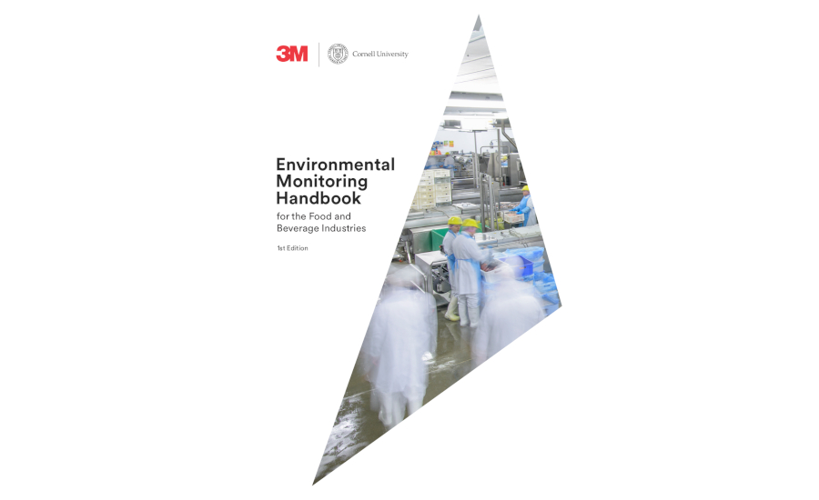 3M Food Safety and Cornell University co-author environmental monitoring handbook