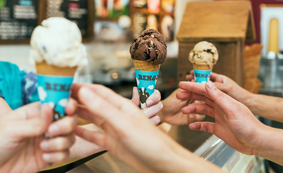 Ben and Jerrys annual free cone day