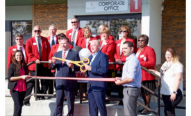 Berner ribbon-cutting ceremony