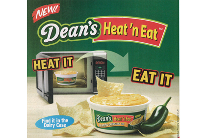 Dean's Heat and Eat ad