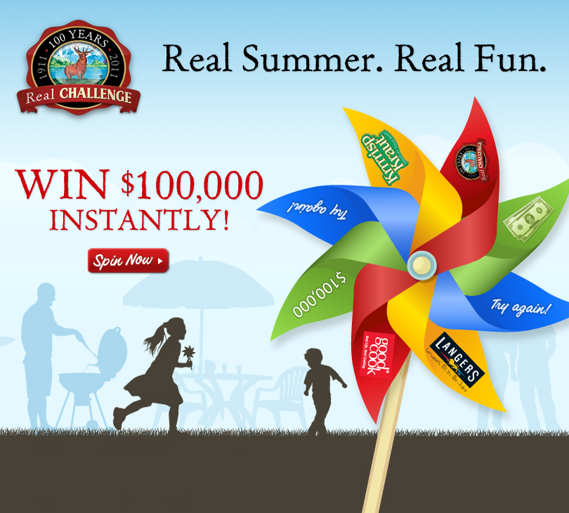 Challenge Butter Real Summer Real Fun contest dairyfoods.com