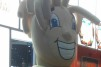 Frigo cheese head mascot at IDDBA