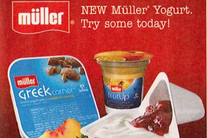 Muller Quaker yogurt FSI