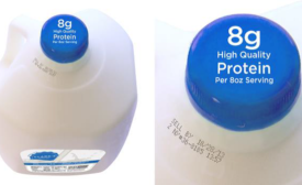 Print milk's protein content on bottle caps writes Mark Farmer in Dairy Foods