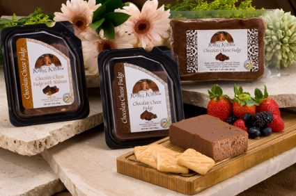 Kelly's Kitchen line, Sugar Brook Farms cheese fudge