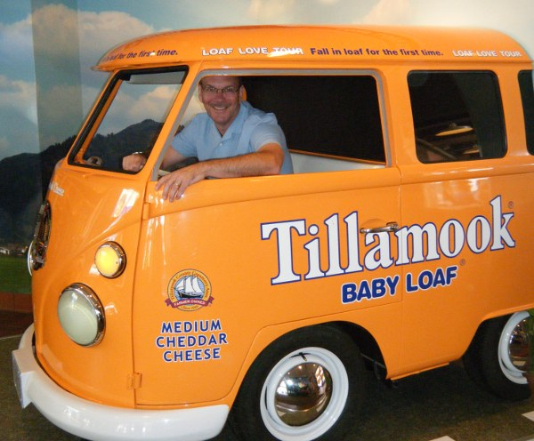 Tillamook Love Loaf bus tour