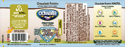 Odwalla Inc. is recalling Odwalla Chocolate Protein Monster beverage