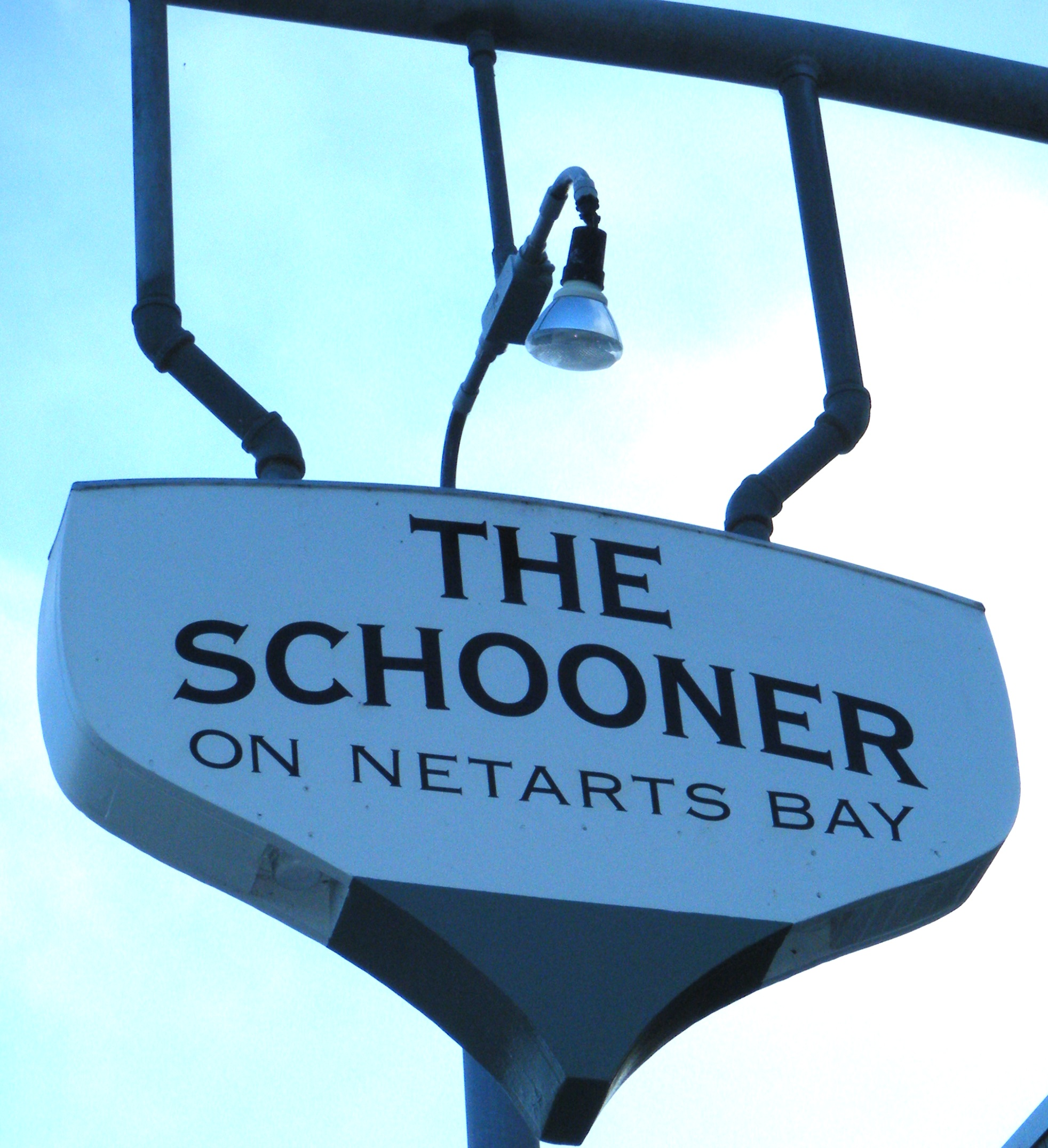 The Schooner on Netarts Bay, Oregon