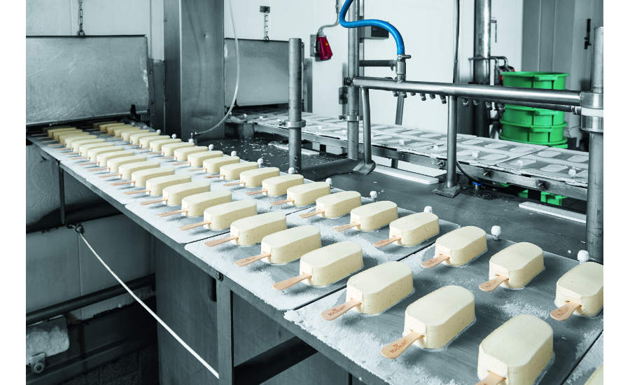 Energy efficiency module reduces compressed air consumption At Wall's Ice Cream Plant In Germany