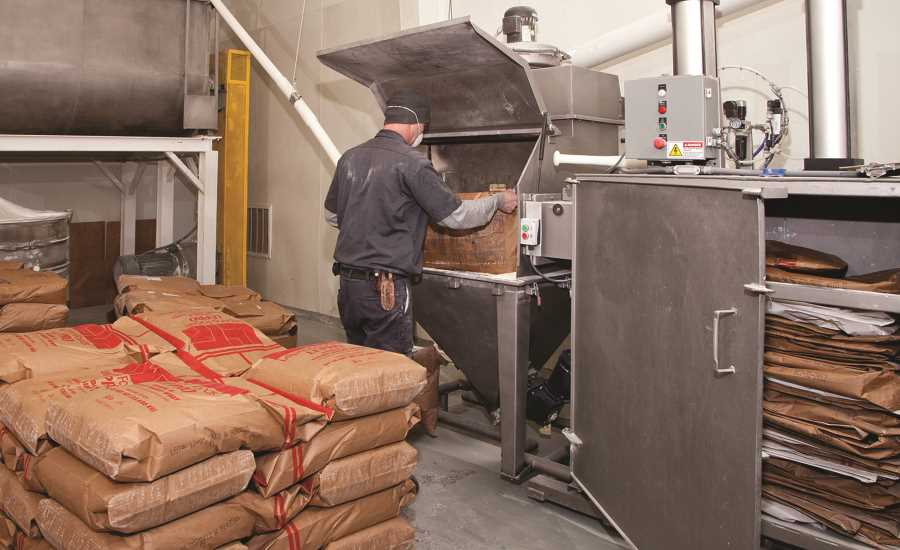 Bulk Handling System Improves Efficiency Sanitation And