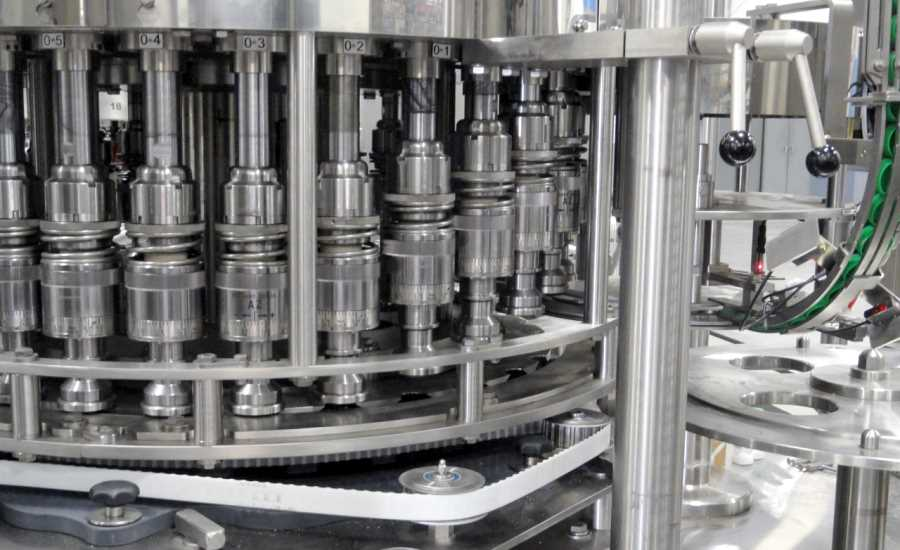 High-speed milk filler and capper with Siemens controls