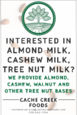 Interested in Almond Milk, Cashew Milk, Tree Nut Milk?