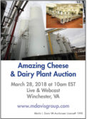 Amazing Cheese & Dairy Plant Auction