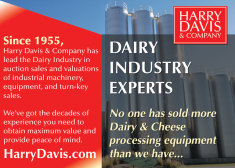 Dairy Industry Experts - Harry Davis & Company