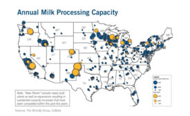 CoBank milk processing capacity