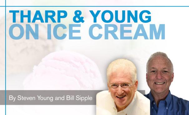 on ice cream