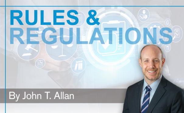 rules regs - Allan