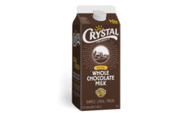 Crystal Creamery chocolate milk